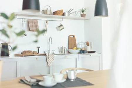 アクタス リノベーション 暮らし リフォーム 無垢床 内装 キッチン