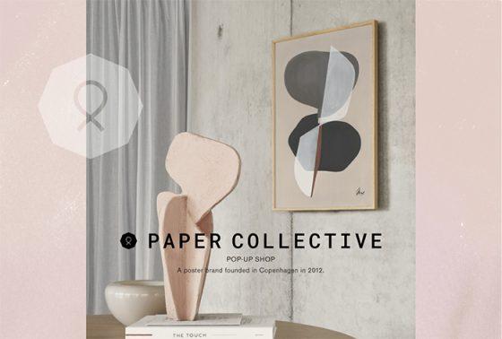 「PAPER COLLECTIVE」のインテリアアートのオーダー会を開催。