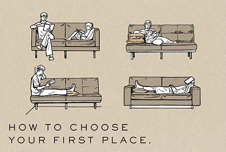 アクタスが教える、間違いのないソファの選び方