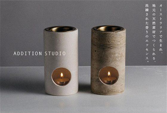 オーストラリアのライフスタイルブランド「Addition Studio(アディションスタジオ)」のアロマのポップアップ開催。