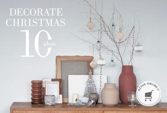 クリスマスを飾る10のアイデア